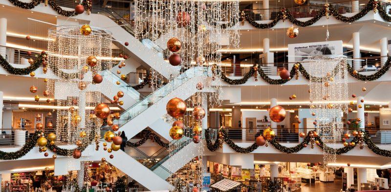 Kaufhaus Dekoration